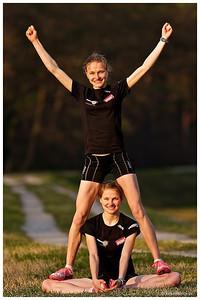 Hahner Twins - Anna und Lisa - mehr dazu im Blog: HahnerTwins – Ziel Olympia