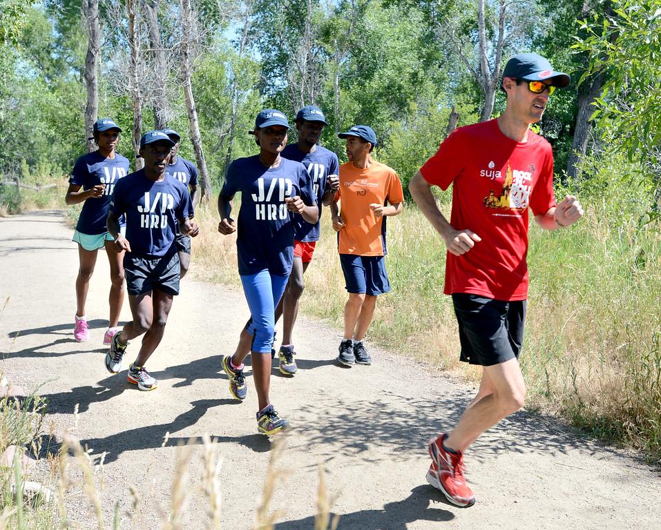 Haiti Runners in Boulder