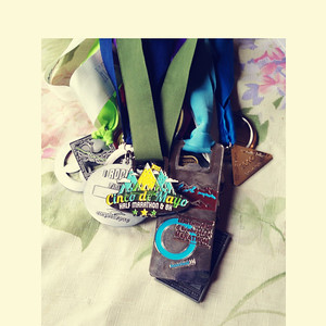 """IG submission for """"Collection"""" - adding Cinco de Mayo to my medal collection!"""
