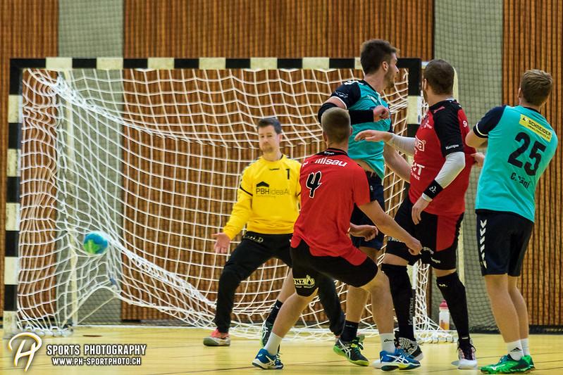 2. Liga: HSG Baar/Zug Superbulls - STV Willisau - 24:25 - Bild-ID: 201709170329