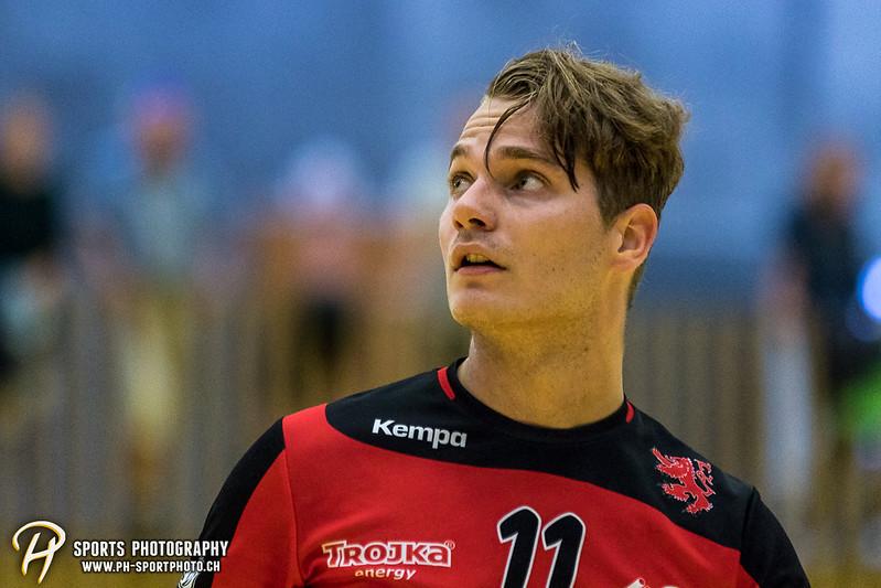 2. Liga: HSG Baar/Zug Superbulls - STV Willisau - 24:25 - Bild-ID: 201709170330
