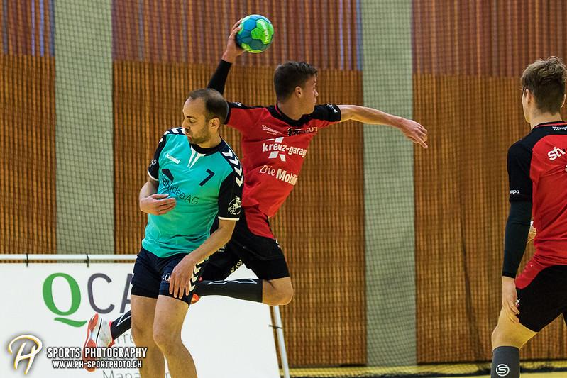2. Liga: HSG Baar/Zug Superbulls - STV Willisau - 24:25 - Bild-ID: 201709170264