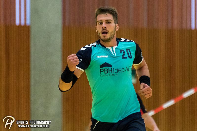 2. Liga: HSG Baar/Zug Superbulls - STV Willisau - 24:25 - Bild-ID: 201709170276