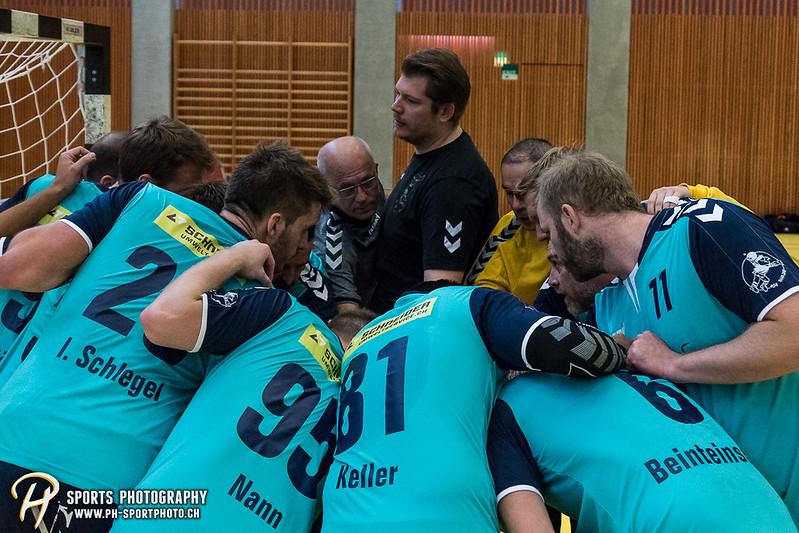 2. Liga: HSG Baar/Zug Superbulls - STV Willisau - 24:25 - Bild-ID: 201709170236