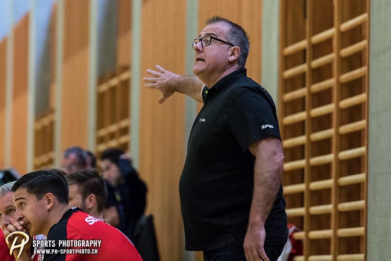 2. Liga: HSG Baar/Zug Superbulls - STV Willisau - 24:25 - Bild-ID: 201709170325