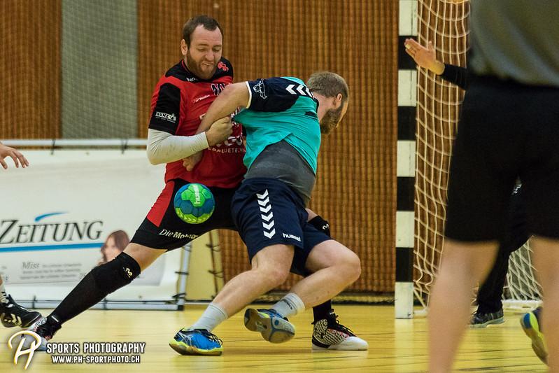 2. Liga: HSG Baar/Zug Superbulls - STV Willisau - 24:25 - Bild-ID: 201709170248