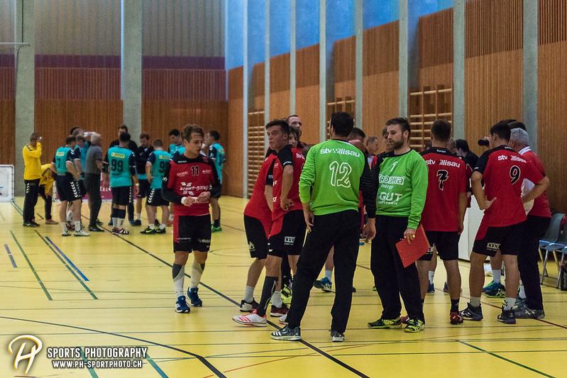 2. Liga: HSG Baar/Zug Superbulls - STV Willisau - 24:25 - Bild-ID: 201709170344