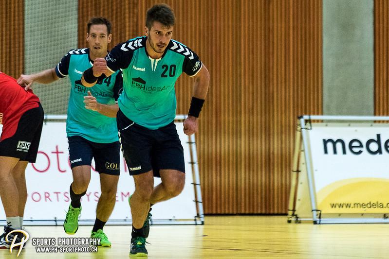 2. Liga: HSG Baar/Zug Superbulls - STV Willisau - 24:25 - Bild-ID: 201709170273