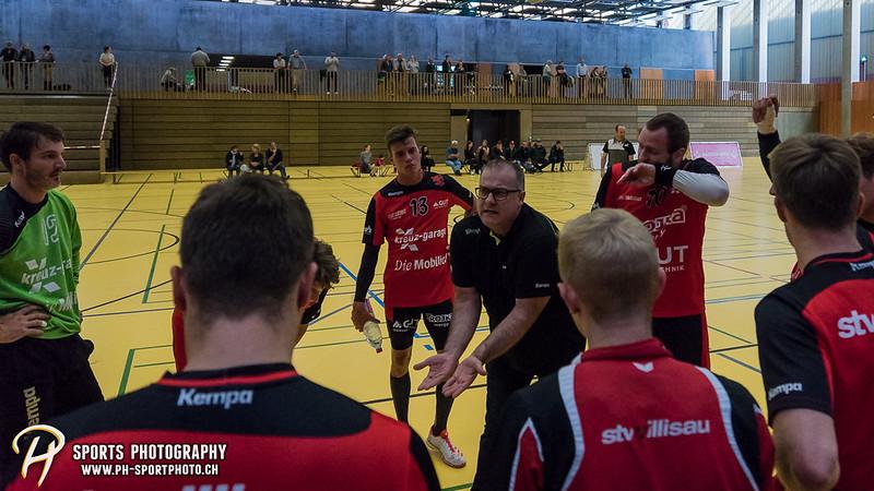 2. Liga: HSG Baar/Zug Superbulls - STV Willisau - 24:25 - Bild-ID: 201709170290