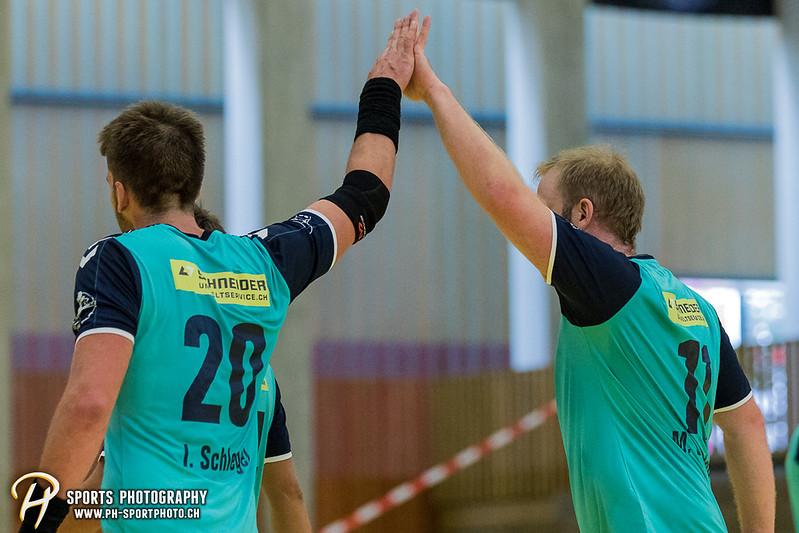 2. Liga: HSG Baar/Zug Superbulls - STV Willisau - 24:25 - Bild-ID: 201709170284