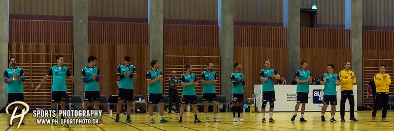 2. Liga: HSG Baar/Zug Superbulls - STV Willisau - 24:25 - Bild-ID: 201709170232