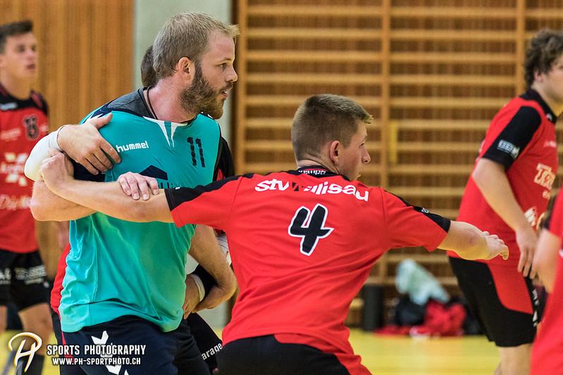 2. Liga: HSG Baar/Zug Superbulls - STV Willisau - 24:25 - Bild-ID: 201709170389