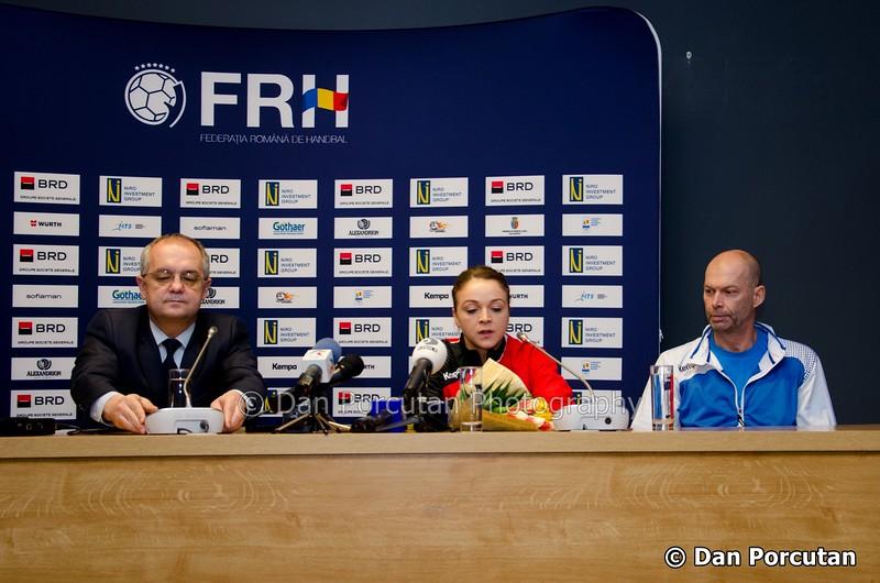 Conferinta de presa premergatoare meciului nationalei Romaniei vs. Norvegiei din preliminariile EURO 2016