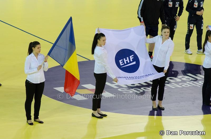 """Meci de handbal feminin Romania vs. Norvegia, """"n preliminariile EURO 2016"""