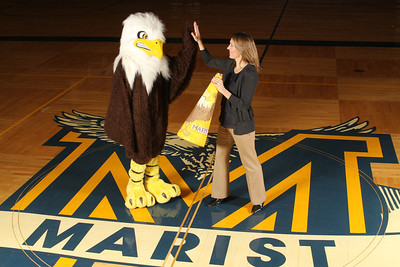 Current and former mascot