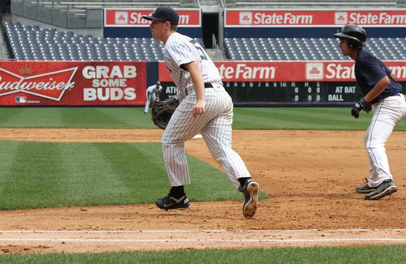 Hank's Yanks v NYC All Stars8 18 2011 Yankee Stadium 1055