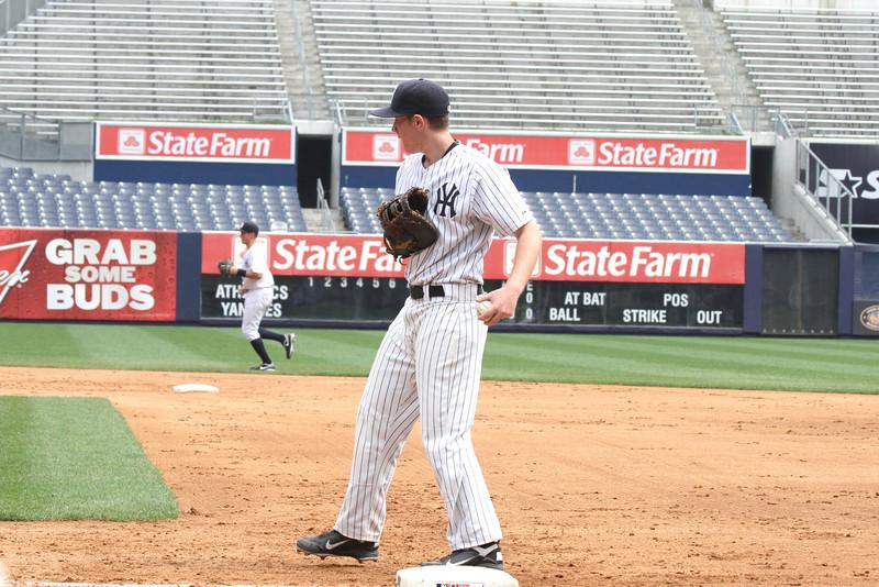 Hank's Yanks v NYC All Stars8 18 2011 Yankee Stadium 1005