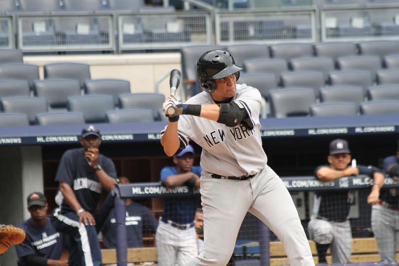 Hank's Yanks v NYC All Stars8 18 2011 Yankee Stadium 1039