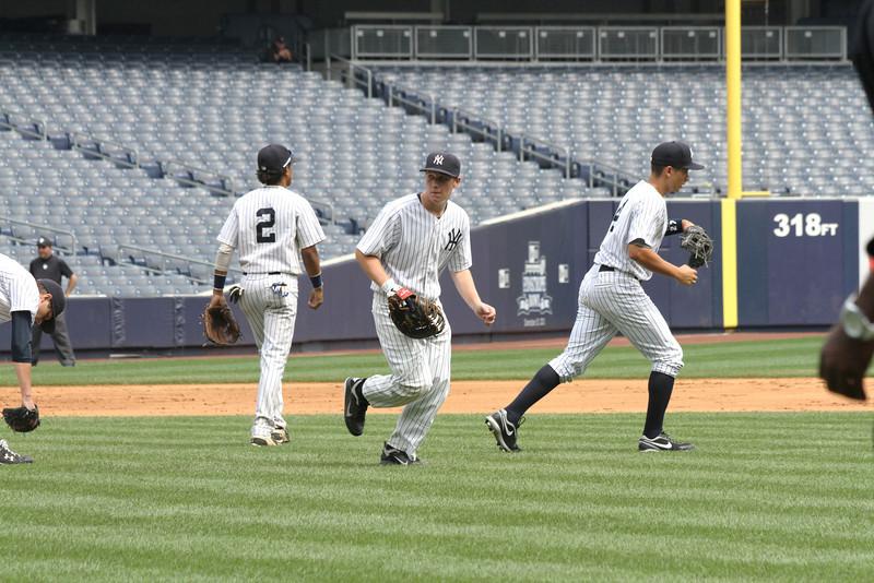 Hank's Yanks v NYC All Stars8 18 2011 Yankee Stadium 1014