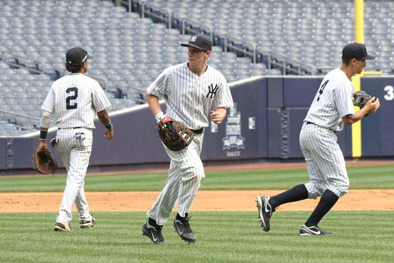 Hank's Yanks v NYC All Stars8 18 2011 Yankee Stadium 1015