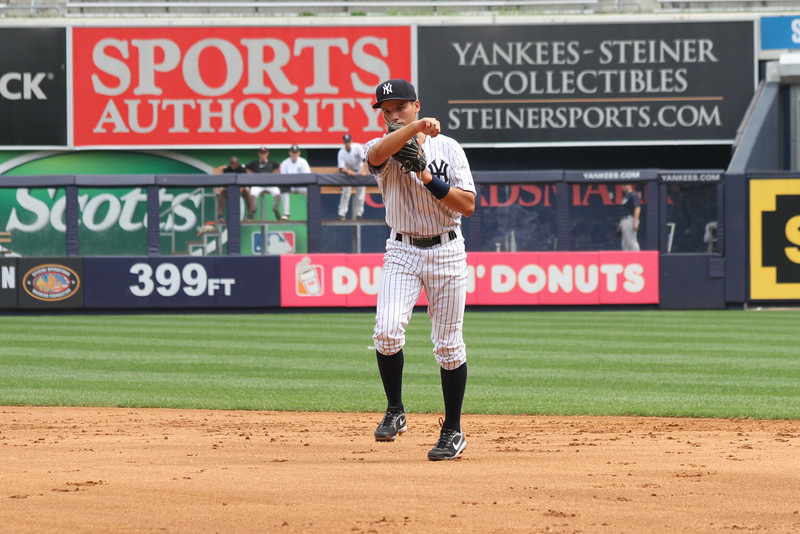 Hank's Yanks v NYC All Stars8 18 2011 Yankee Stadium 1030