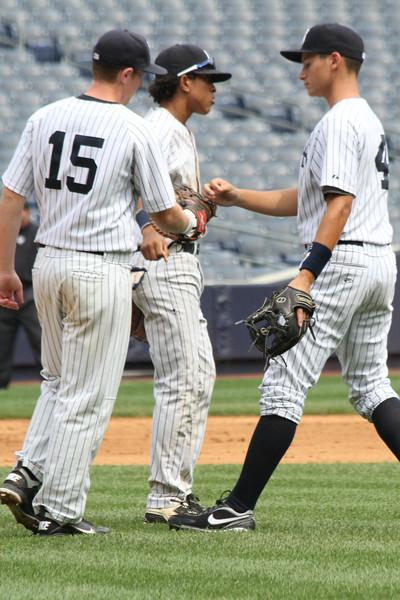 Hank's Yanks v NYC All Stars8 18 2011 Yankee Stadium 1012