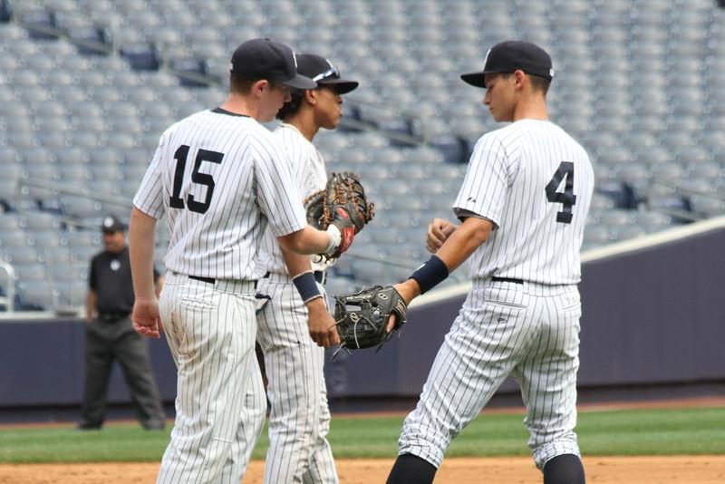Hank's Yanks v NYC All Stars8 18 2011 Yankee Stadium 1013
