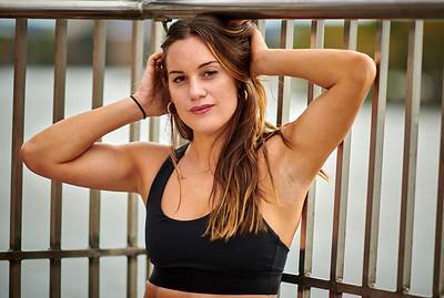 Sept.29,  2019 - New York, NY   Lifestyle/ Fit Model Hannah Berner captured in Manhattan  SLU Agency   Photographer- Robert Altman Post-production- Robert Altman