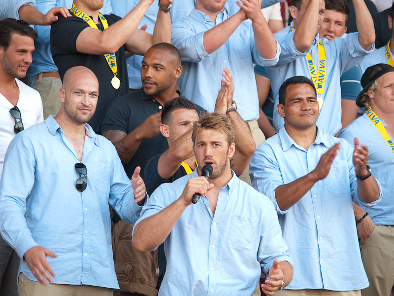 Aviva Premiership Final, Twickenham Stadium 26th May 2012.  Harlequins 30 Leicester Tigers 23