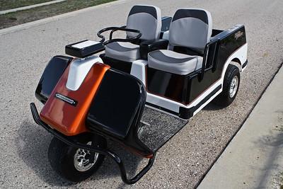 Harley Davidson Golf Kart