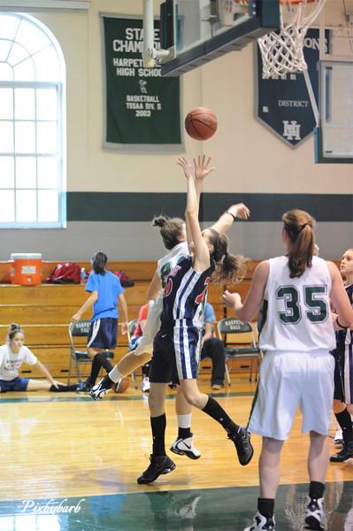 Harpeth Hall vs Brentwood Academy Basketball 1-23-09