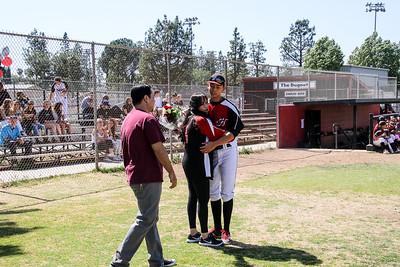 Hart Baseball 2017 Senior day