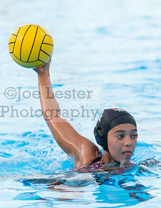 Harvard Westlake High School Girl's Varsity Water Polo vs Mater Dei in Studio City, CA on Monday, January 6, 2014