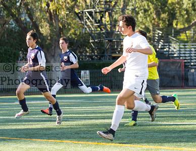 Harvard-Westlake High School Boys J/V Soccer vs Chaminade 2-10-16