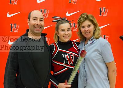 Harvard-Westlake Cheer Senior Night Photos 2-10-16