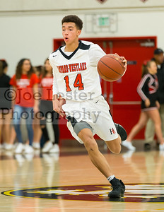 Harvard-Westlake High School Boys JV Basketball vs Notre Dame 2-1-17