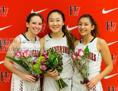 Harvard-Westlake Girls Vaarsity Basketball Senior Night 2-9-17