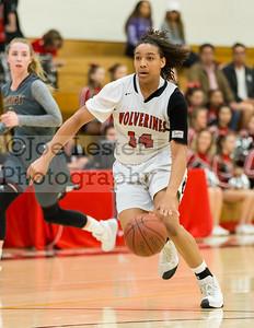 HW Girls Varsity Basketball vs Bishop's (State Playoffs) 3-10-17