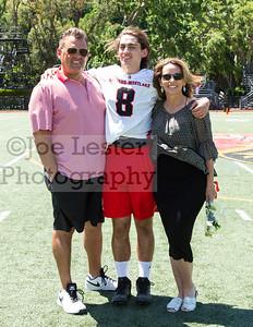 Harvard-Westlake High School Lacrosse Senior Day 4-29-17