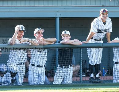 Harvard-Westlake High School Boys Varsity Baseball vs Alemany 3-15-17 (photo by Joe Lester)