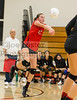 Harvard-Westlake High School Girls Varsity Volleyball vs Notre Dame on September 7, 2017 in Studio City, California. (Photo by: Joe Lester)