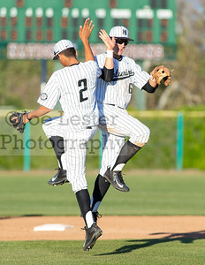 Harvard-Westlake High School Boys Varsity Baseball vs Alemany 3-15-17 (photo by Joe Lester)
