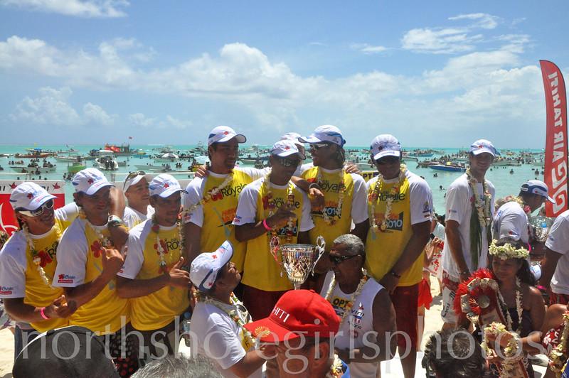 Team OPT Champions 2010 Hawaiki Nui Va'a