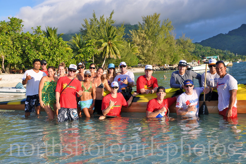 Team Hawaii Men and Women's Team Hawaiki Nui va'a 2010