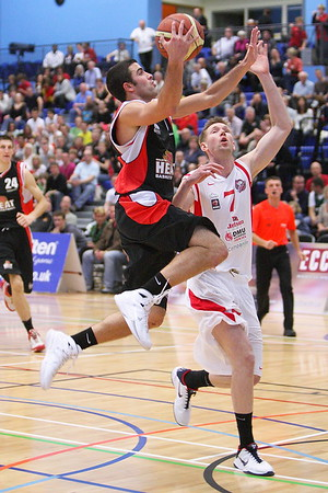 Guildford Heat v Leicester Riders BBL Trophy Semi-final (30.10.10) HQ