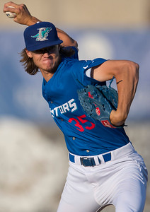 Helena Brewers battle the Ogden Raptors at Lindquist Field in Ogden, on Tuesday July 18, 2017.