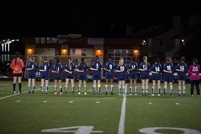 Hendrickson vs westwood girls soccer 1/27/15