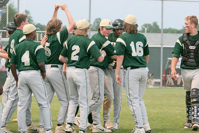 IMG_66675Henrico teammates celebrate after Landon Prentiss scored in the top of the fifth, giving the Warriors the 1-0 lead over Atlee.