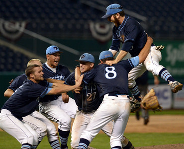 06.12.15 North Penn defeats Wyoming Valley West, 4-3, in 8 innings for State AAAA crown
