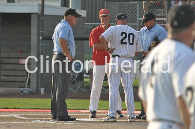 Clinton at North Scott substate baseball (7-21-14)